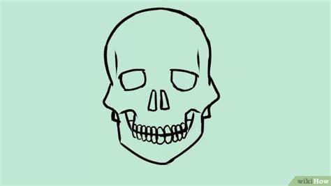 doodskop tekenen een schedel tekenen wikihow