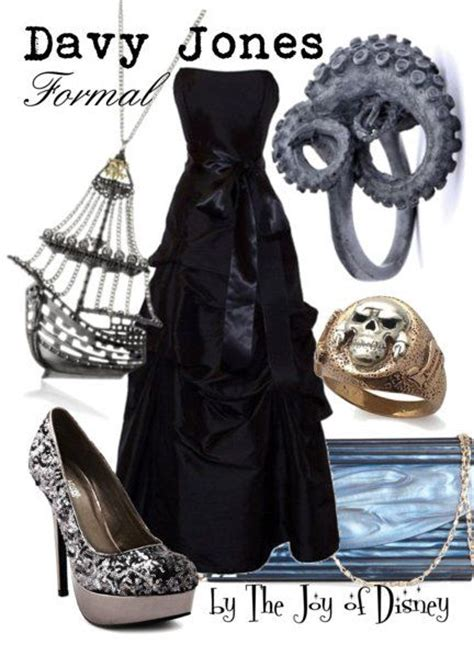 pirates inspired formal outfit inspired by davy jones from pirates of the