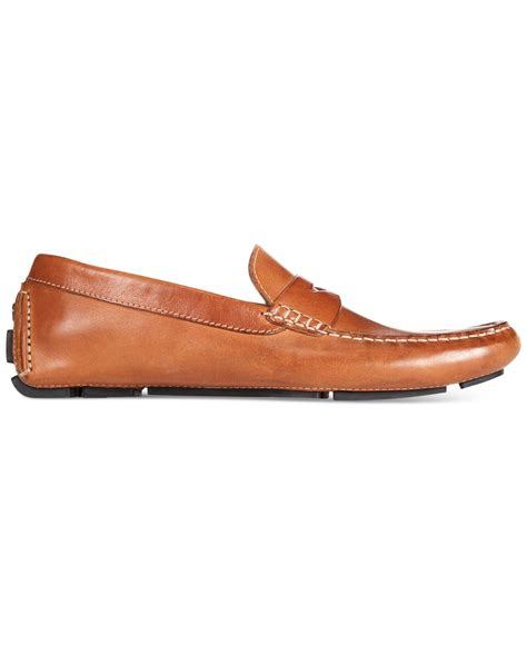cole haan howland loafers cole haan howland loafers in brown for lyst