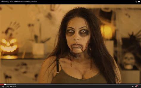 tutorial trucco zombie the walking dead zombie makeup on my youtube channel julissa s beauty tips