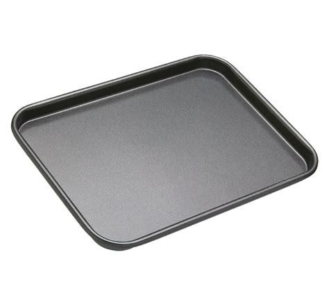 Best Kitchen Knive by Kitchencraft Masterclass Non Stick Baking Tray Grey 24 X