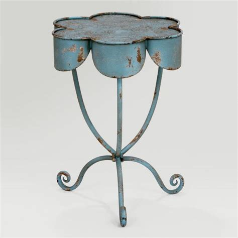 flower accent table flower olivia accent table world market