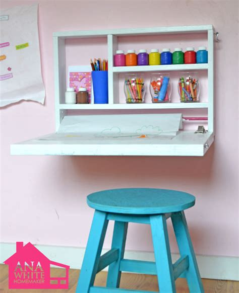 art desk for kids 8 small desks and art center ideas for kids and small homes