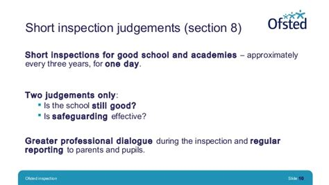 section 5 ofsted inspection ofsted inspection putting learning first conference