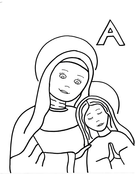 Coloring Pages Saints To Color Page 6 Coloring Pages Of Saints