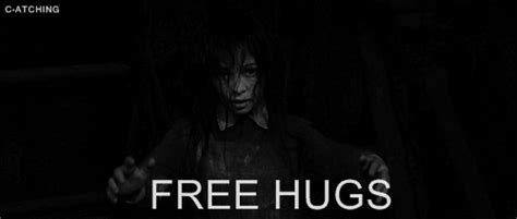 creepy hugs dont do it free hugs gif wifflegif