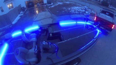 black lights for boats led strip lighting for my ranger z21 bass boat youtube