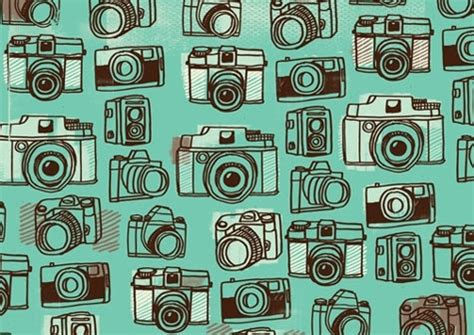 Pattern Background Camera | background camera cameras mint green pattern pattern