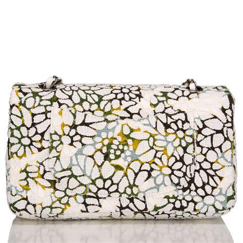 Bag Tas Chanel Flower Large chanel floral tweed large classic flap bag world s best