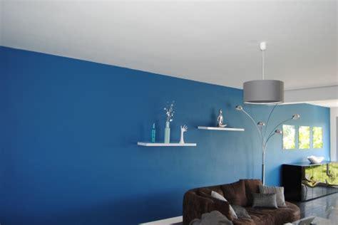Mur Bleu Roi by Les Couleurs Tendance De 2014 Peinture Murale