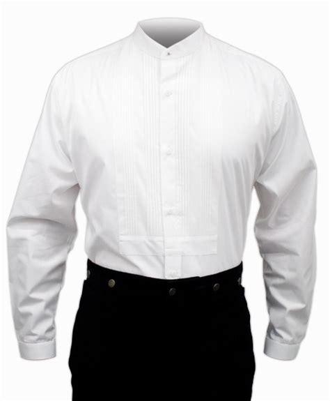 Pleated Shirt pleated dress shirt white