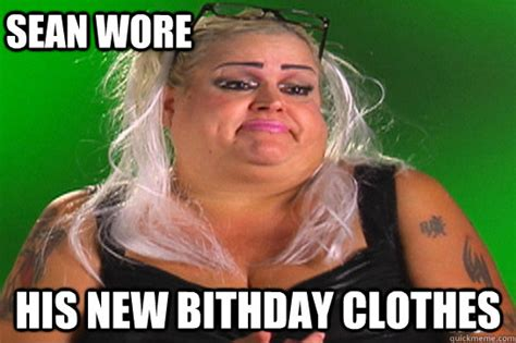 Sonia Meme - sean wore his new bithday clothes sonia from operation