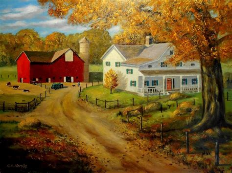 1940 Home Decor by Paintings Originals For Sale 1930 S Farm Artsyhome