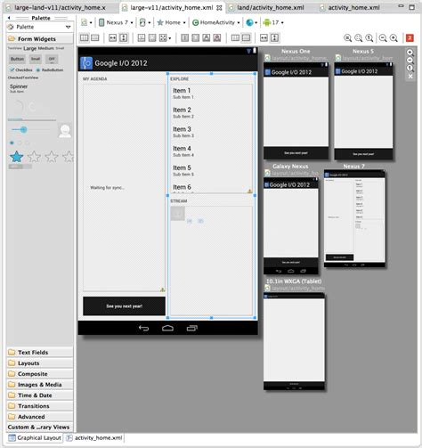 update layout on android google s new android dev tools improve ui layout