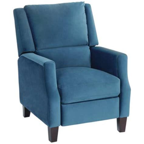 blue velvet recliner chair irina blue velvet recliner chair 19h97 ls plus