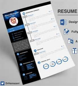 free unique resume templates for word 12 professional resume templates in word format xdesigns