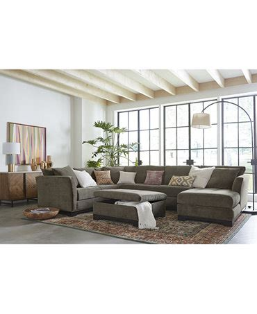 elliot fabric sectional living room furniture collection elliot fabric sectional living room furniture collection