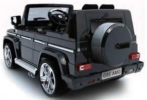 Mercedes g55 amg 12volt twin motor 2x speed accu auto kinderauto