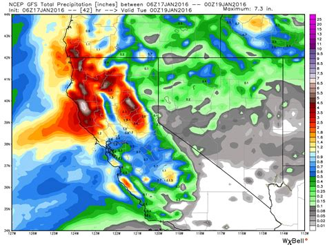 Gfs Alone bouncing snow levels tahoe daily snow report snow