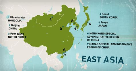 east asian countries map east asia map countries regional scenarios of east