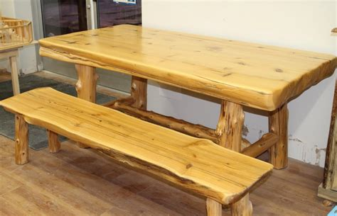 cedar dining room table bradley s furniture etc utah rustic dining table sets