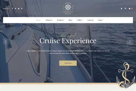 yacht and boat rental service theme nulled yachting and fishing themes winter 2019 wp daddy