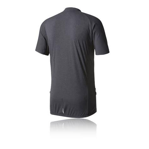 adidas trailcross mens grey climalite half zip sleeve t shirt top ebay