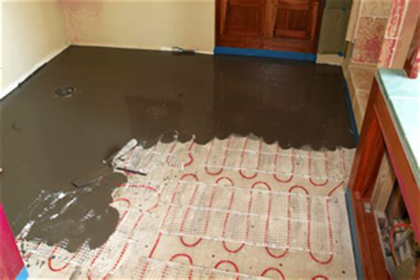 installing heated floors in bathroom blog posts