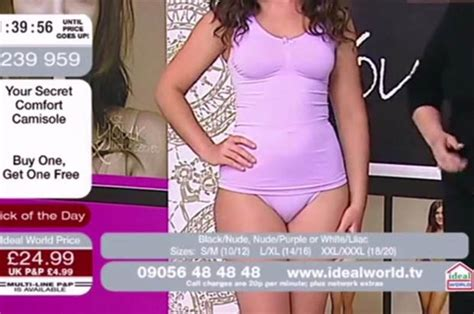 savannah chrisley camel toe ideal world model exposes camel toe live on shopping