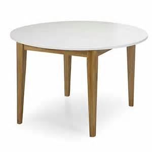 table de repas ronde d120cm avec allonge siwa tables