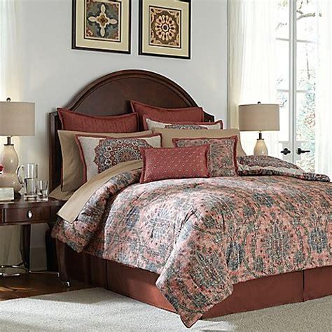 red california king comforter buy jacobean 12 piece california king comforter set in red