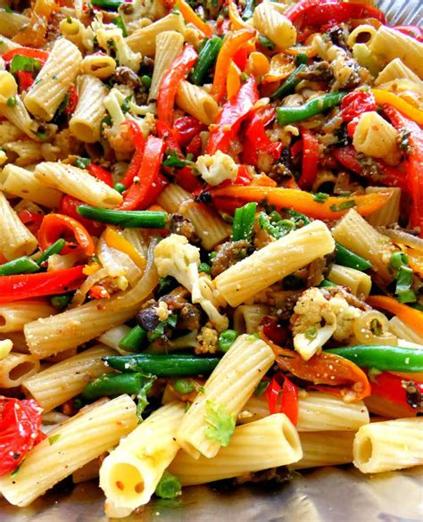 roasted veggie pasta for a crowd proud italian cook