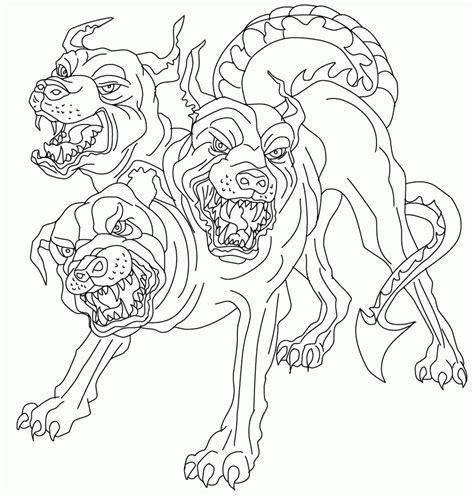 greek mythology coloring pages pdf cool cerberus greek mythology coloring page wut source