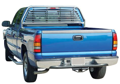 Stainless Steel Headache Rack by 2007 2016 Chevy Silverado Go Industries Stainless Steel