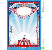 Cartel Del Circo Ilustraci&243n Vector De