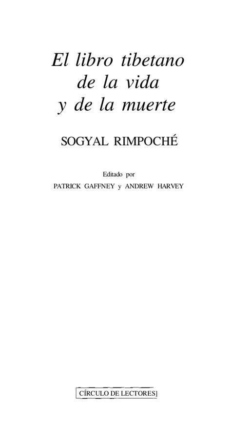 Libro El Libro Tibetano De Los Muertos Descargar Gratis pdf