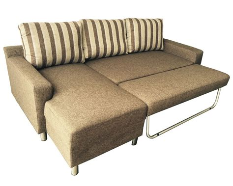 Kacy Fabric Convertible Sectional Sofa Bed Couch Bed