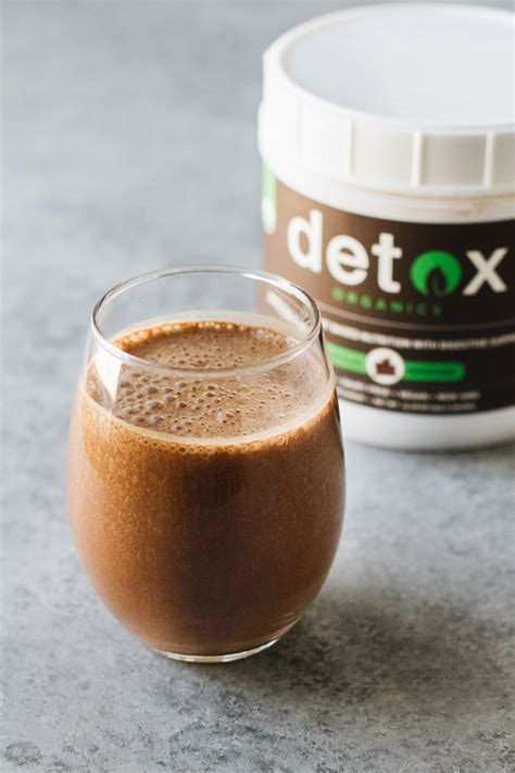 Chocolate Detox Smoothie by Easy Chocolate Banana Smoothie Jar Of Lemons