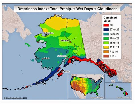 us weather map alaska brian b s climate dreary weather