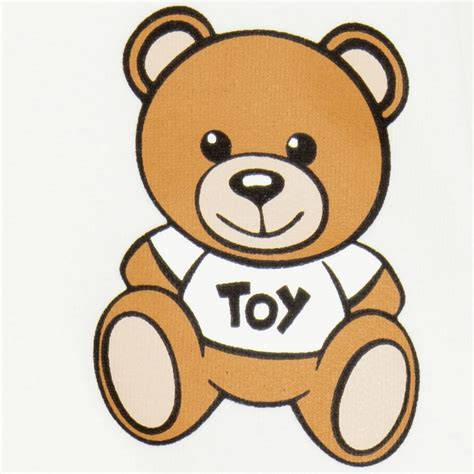 Moschino Teddy Iphone moschino baby ivory teddy tracksuit childrensalon