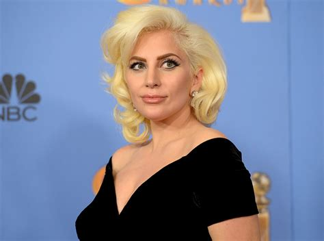 lady gaga showed off major skin in a body baring white