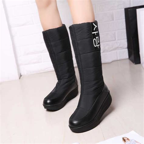 2016 new s warm fur snow boots fashion outdoor