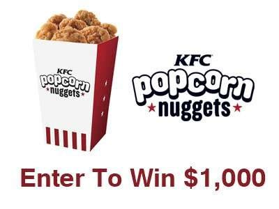 Kfc Sweepstakes - usscpromotions com people get free entries into the people kfc nuggets of wisdom