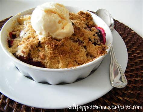 Plumb Crumble by Vanilla Plum Crumble Pie Recipe Dishmaps