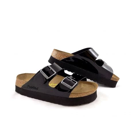 platform birkenstock sandals birkenstock papillio arizona two platform sandals
