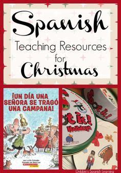 printable christmas resources 17 best images about spanish for ankle biters on pinterest