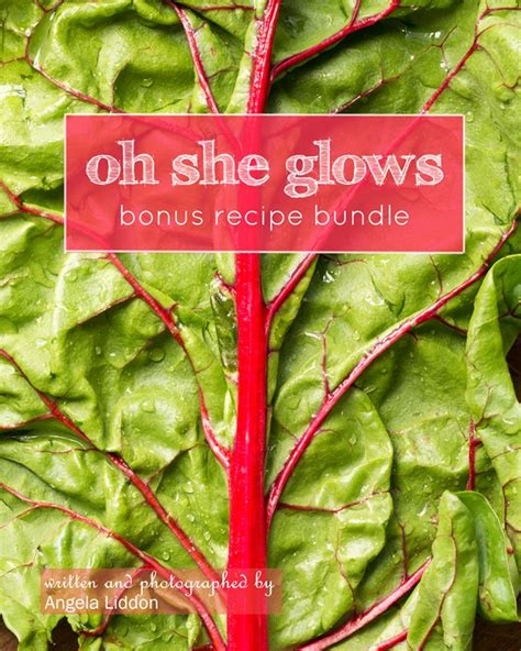 Oh She Glows Detox Tonic by The Bonus Recipe Bundle Is ᗔ Here Here Ga26