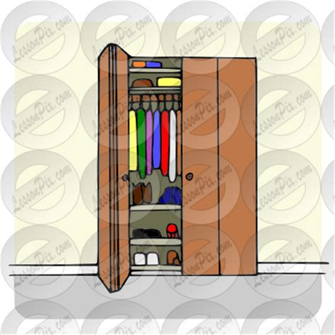organized cleaning closet clipart clipart suggest