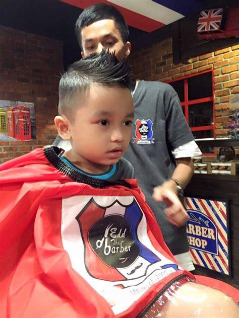 Kedai Jual Rambut Palsu Lelaki gaya rambut anak lelaki boleh kalah si ayah keibubapaan