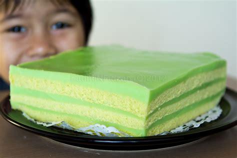 fnf simple life pandan layered cake